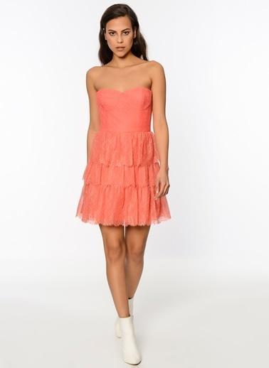 BcbgMaxAzria Yazlık Elbise Renkli